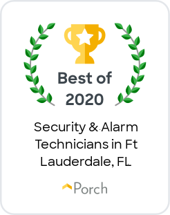 Best of Porch 2020 - Security & Alarm Technicians in Ft Lauderdale, Florida