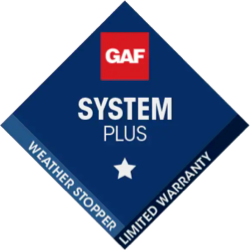 GAF System Plus Weather Stopper Certified