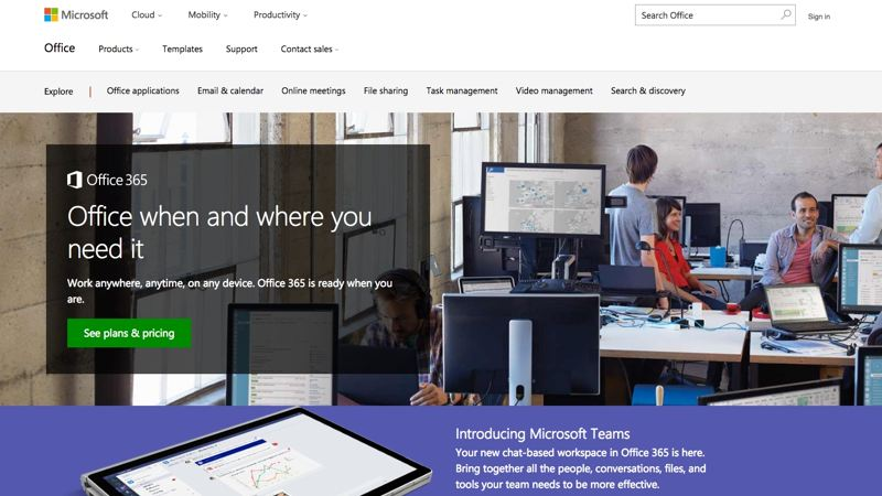 Microsoft Office 365 branded email solution for small business