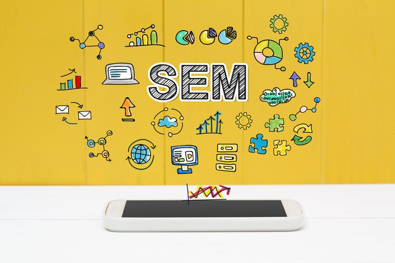 An integrate marketing strategy includes the two main components of SEM, SEO and PPC.