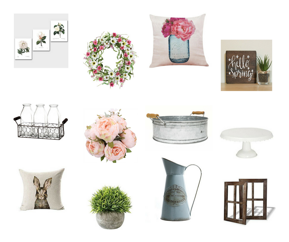 spring farmhouse decor