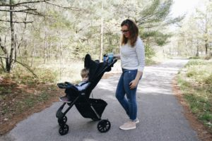 summer adventures with chicco mini bravo plus stroller