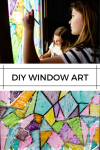 DIY window art