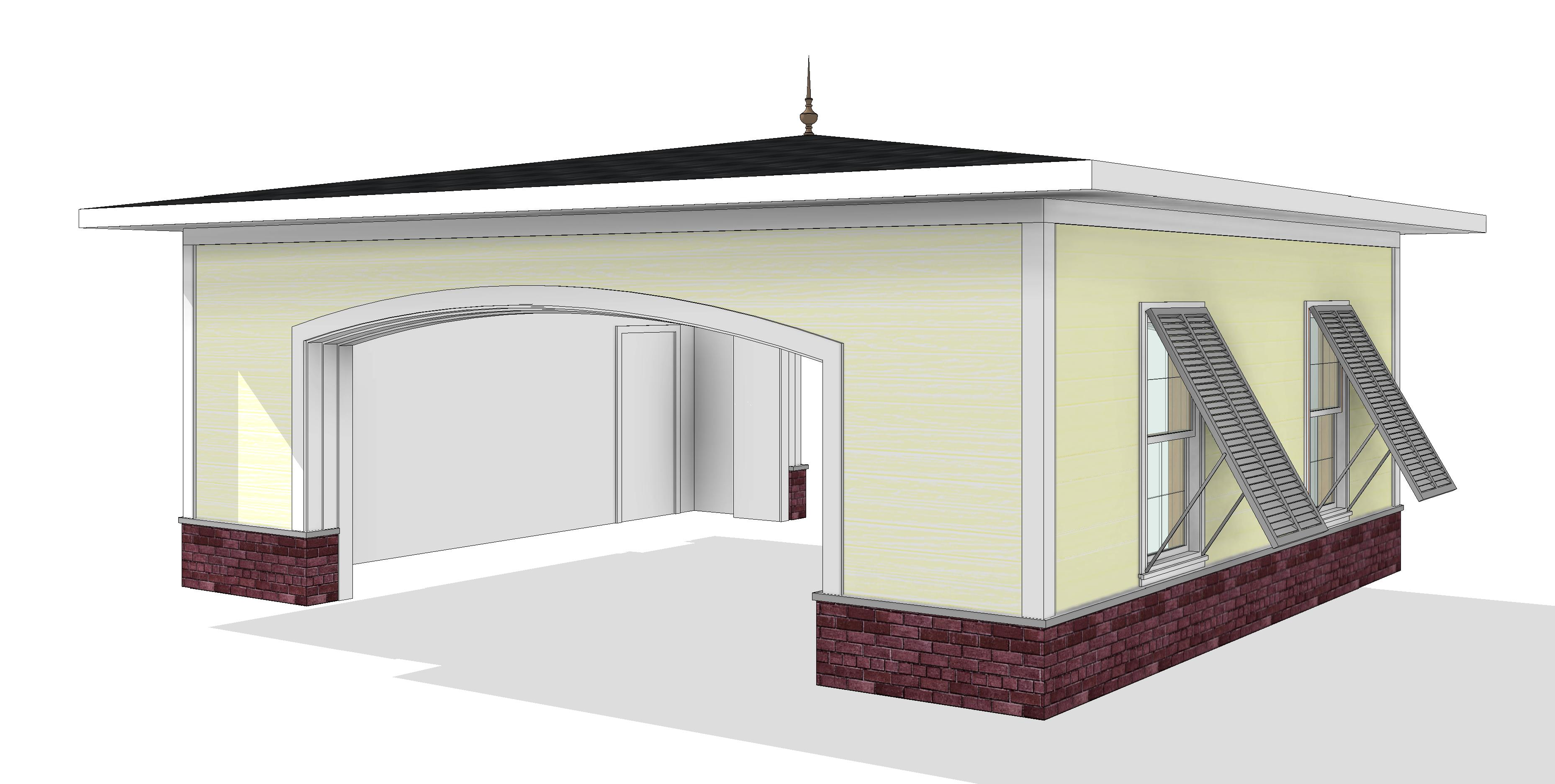 Residential Carriage Porch or Porte Cochere