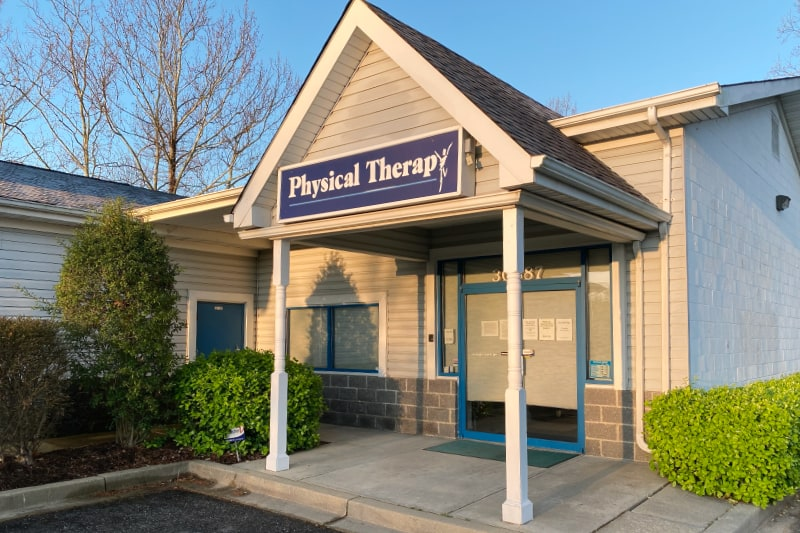 physical therapy clinic entrance