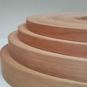 Cherry wood veneer edgebanding