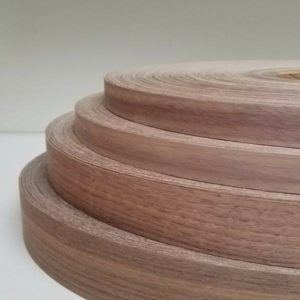 Walnut wood veneer edgebanding