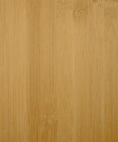 Carbonized planked bamboo wood veneer sample