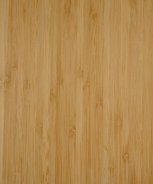 Carbonized vertical bamboo wood veneer sample