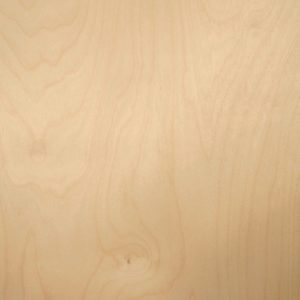 White birch wood veneer sample, rotary cut spliced