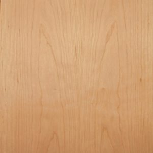 Cheery wood veneer sample, flat cut