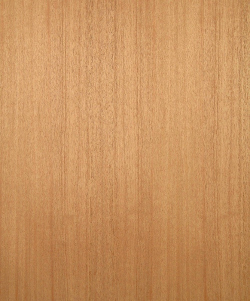 African mahogany wood veneer sample, quarter cut