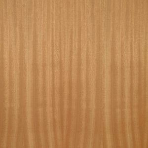 Ribbon striped mahogany wood veneer sample