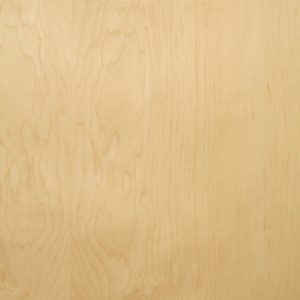 Cabinet grade maple wood veneer sample