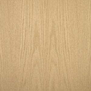 White oak wood veneer sample, flat cut