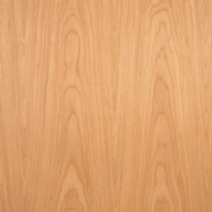 Reconstituted cheery wood veneer sample, flat cut