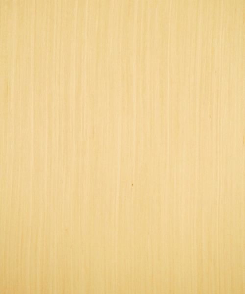 Reconstituted maple wood veneer sample, quarter cut