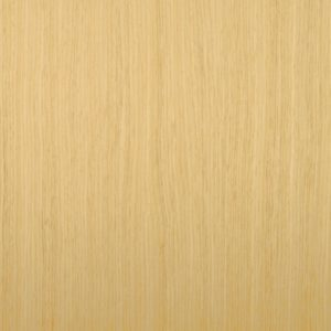 Reconstituted white oak wood veneer sample, rift cut