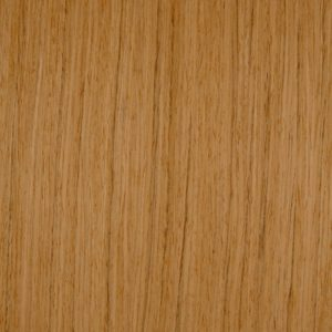Quarter cut reconstituted teak wood veneer sample