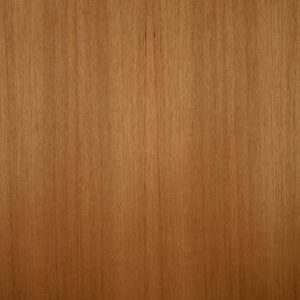 Quarter cut teak wood veneer sample