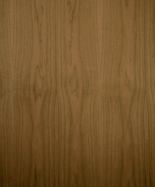 Walnut wood veneer sample, flat cut