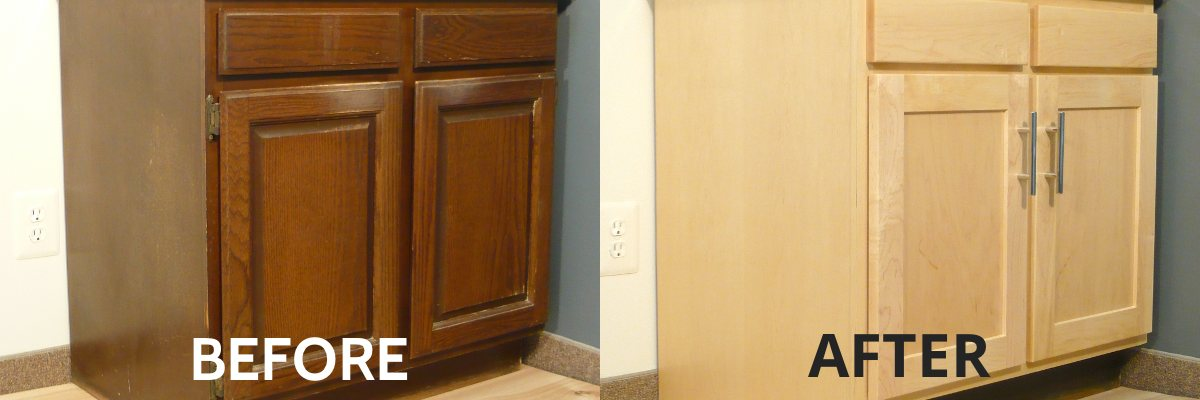 Refinishing Kitchen Cabinets Modern Refacing Made Easy Wisewood