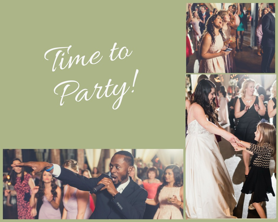 party at the limit band modern rustic wedding 9