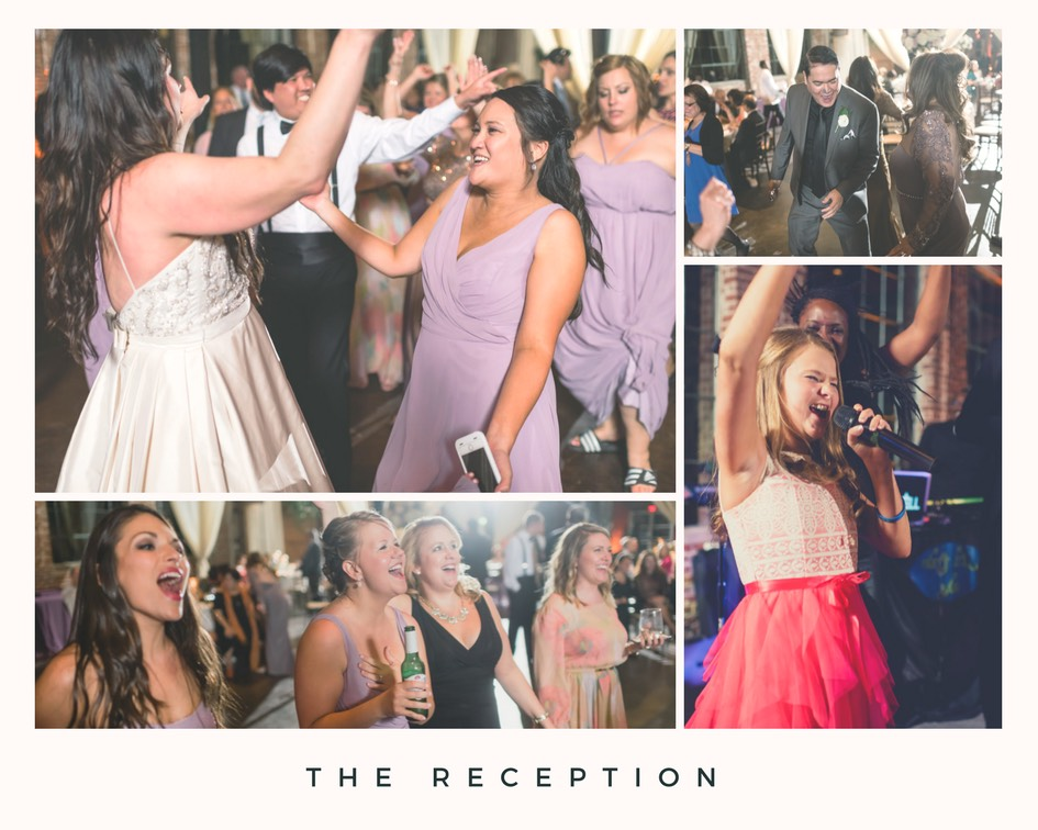 party at the limit band modern rustic wedding 10