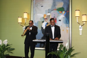 If you have a smaller venue, we suggest a smaller 2-3 piece band (pictured above), or a DJ.