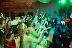 Infinity Show Band performing at the Gibson/Margeson wedding reception. Photo cred: Taylor Square Photography