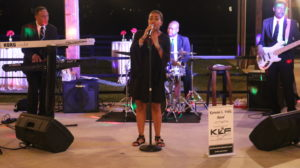A smaller 4-5 pc band (pictured: Kerwin L Felix Band) that includes a vocalist.