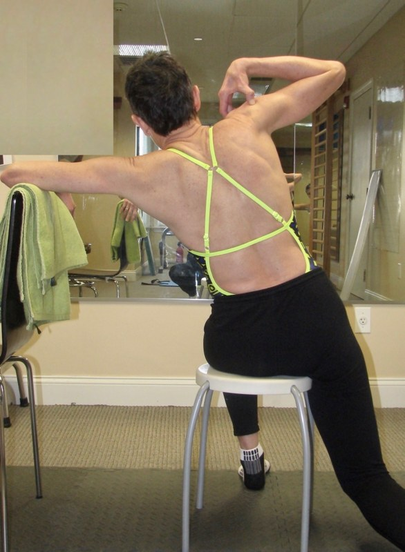an example of a schroth method exercise for adults with scoliosis