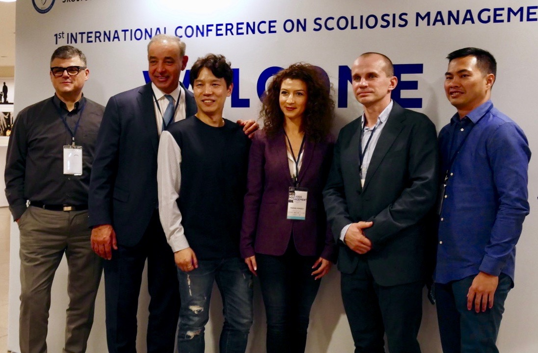 Schroth Best Practice Practitioners at Scoliosis Conference Turkey